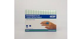 Pansements 7/8'' en tissu détectable (BTE 100)