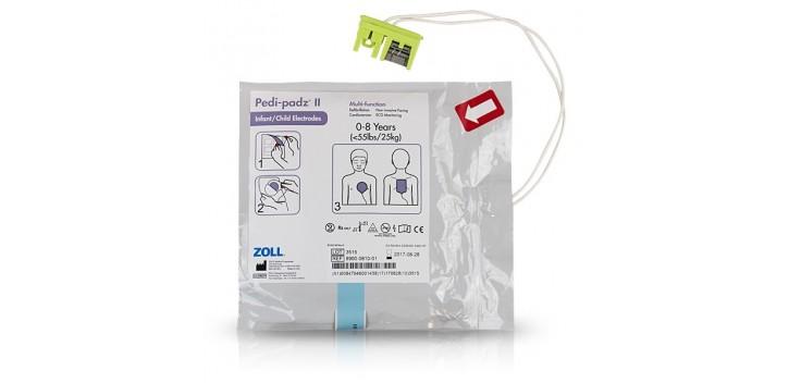 Électrodes PEDI-PADZ II ZOLL